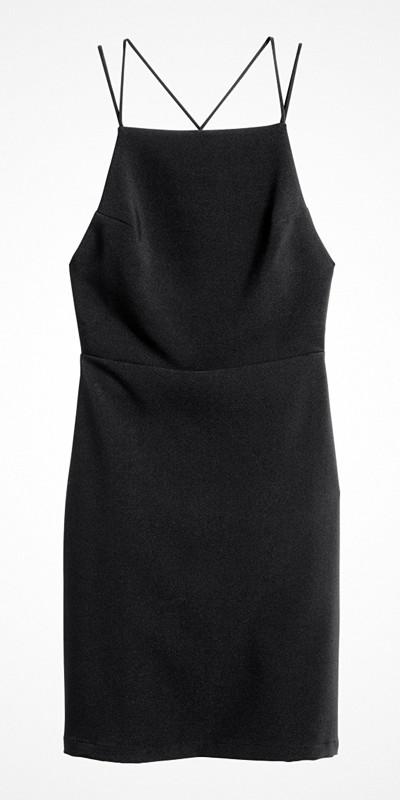 H&M ärmlös klänning