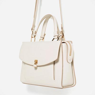 Zara cityväska med hänglås