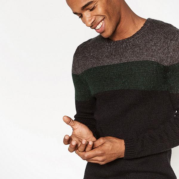Zara tröja med färgblock