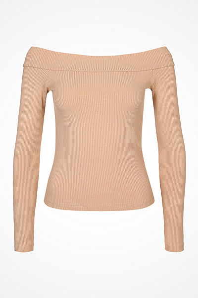 Miss Selfridge off shoulder-tröja