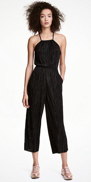 H&M plisserad jumpsuit