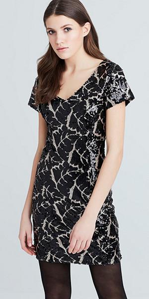 Bik Bok Yves mönstrad klänning