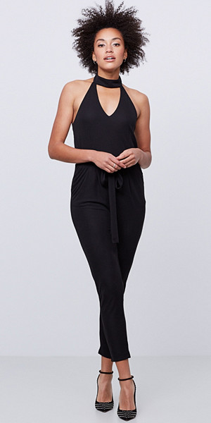 Gina Tricot Arya jumpsuit med inbyggd choker