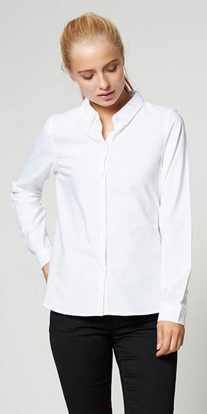 Vero Moda långärmad vit skjorta