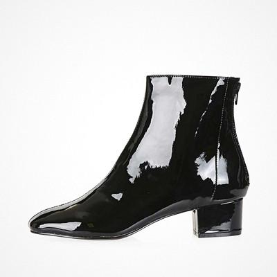 Topshop Kobra Patent Boots