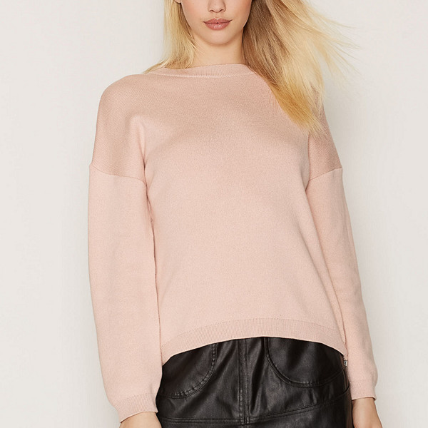 Object Collectors Item rosa finstickad tröja