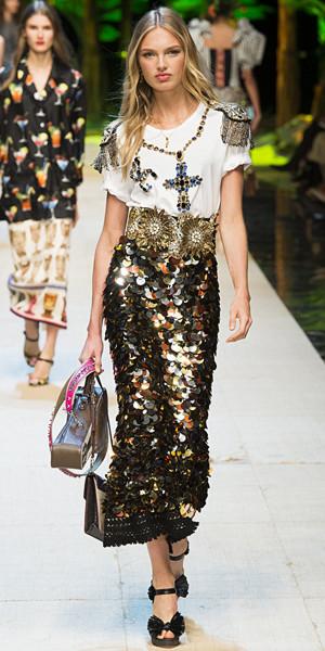Dolce & Gabbana Spring 2017 Look 43