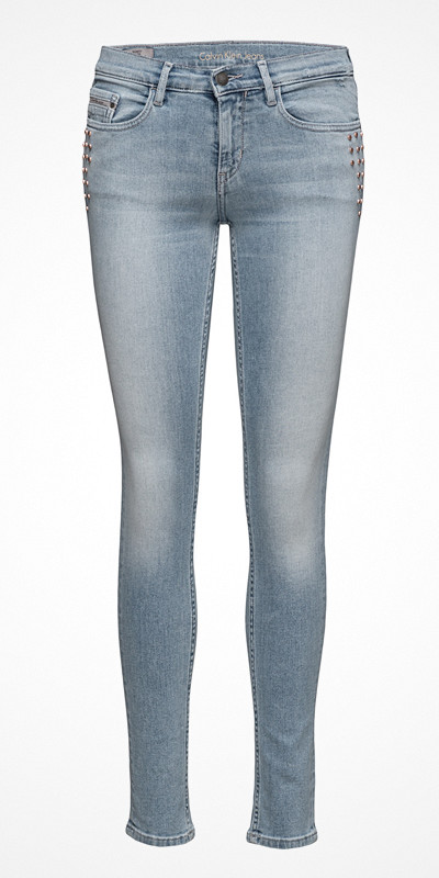 Calvin Klein Jeans Skinny Freedom Blue strechjeans