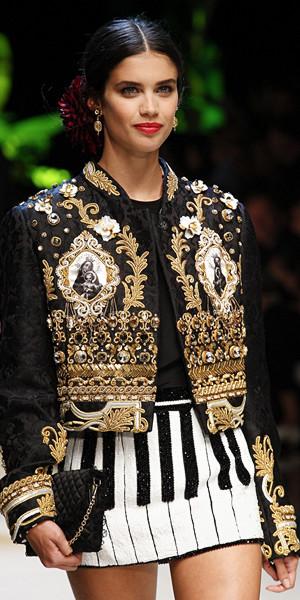 Dolce & Gabbana Spring 2017 Look 18