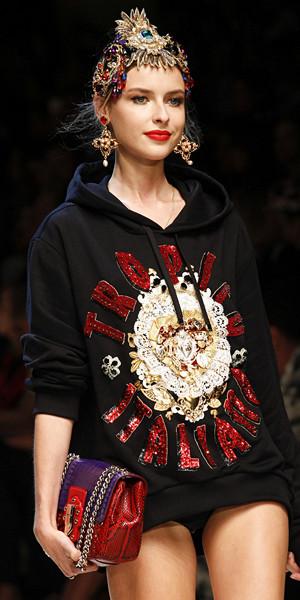 Dolce & Gabbana Spring 2017 Look 16