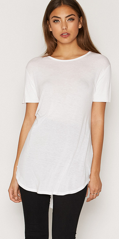 Blk Dnm vit t-shirt