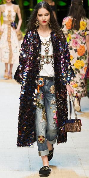 Dolce & Gabbana Spring 2017 Look 25