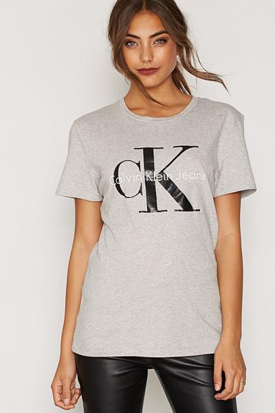 Calvin Klein Jeans grå t-shirt