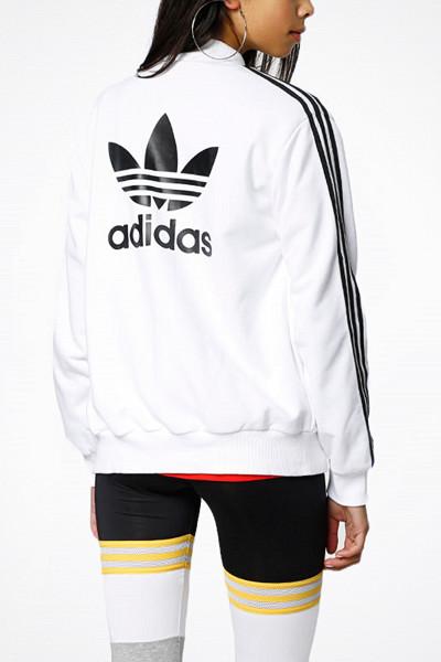 Adidas Originals vit bomberjacka