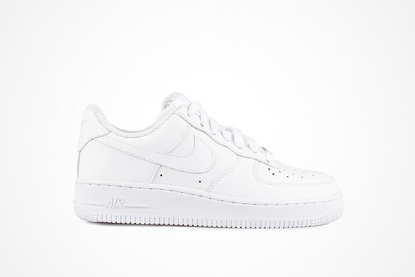 Nike vita sneakers äkta läder Air Force 1'07