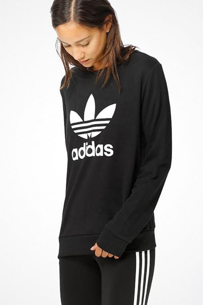 Adidas Originals svart tröja med tryck