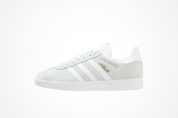 Adidas Originals mintgröna sneakers Gazelle