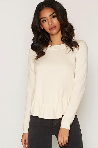 Vero Moda vit tröja