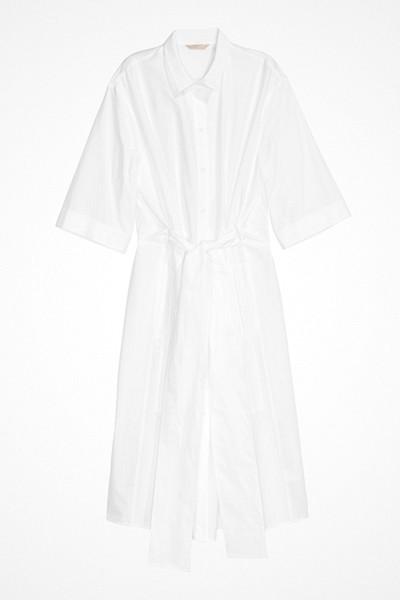 H&M vit skjortklänning