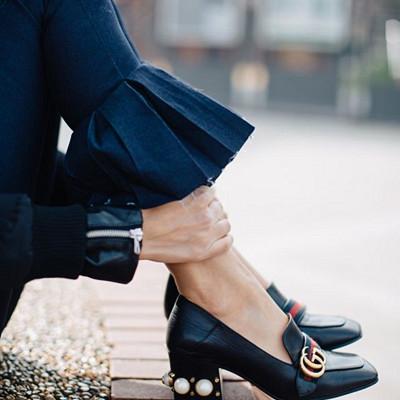 Inspiration jeans med volanger