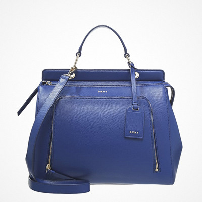 DKNY blå handväska Bryant Park