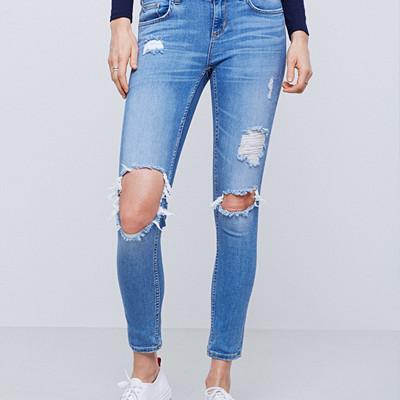Gina Tricot slitna jeans