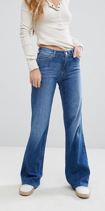Lee utsvängda jeans
