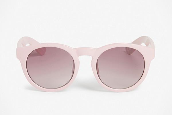 Monki rosa solglasögon