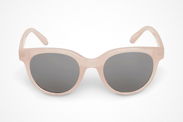 Weekday rosa solglasögon