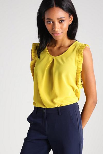 Molly Bracken gul blus
