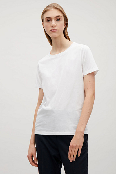 COS vit t-shirt