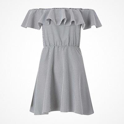 Miss Selfridge randig klänning