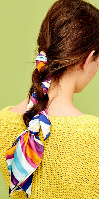 Zara randig scarf