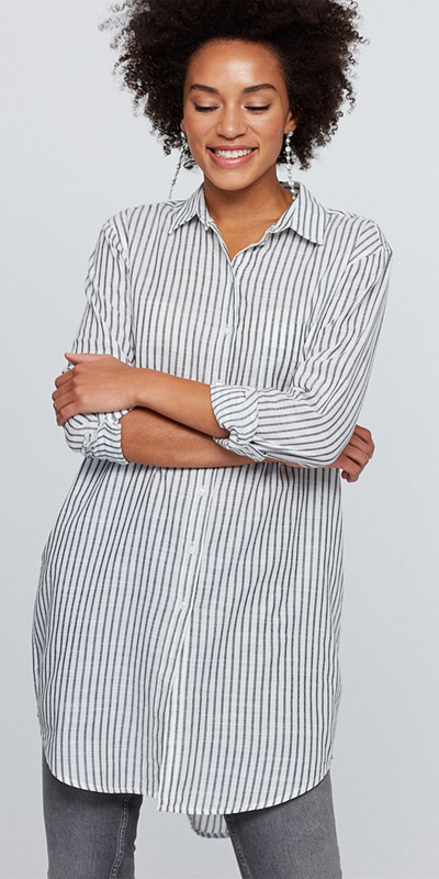 Gina Tricot randig skjorta