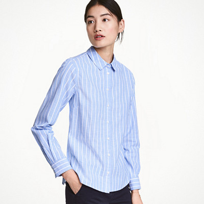H&M randig skjorta