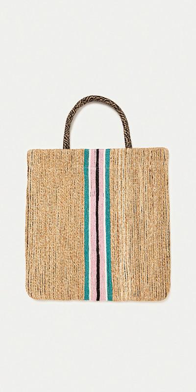 Zara randig väska