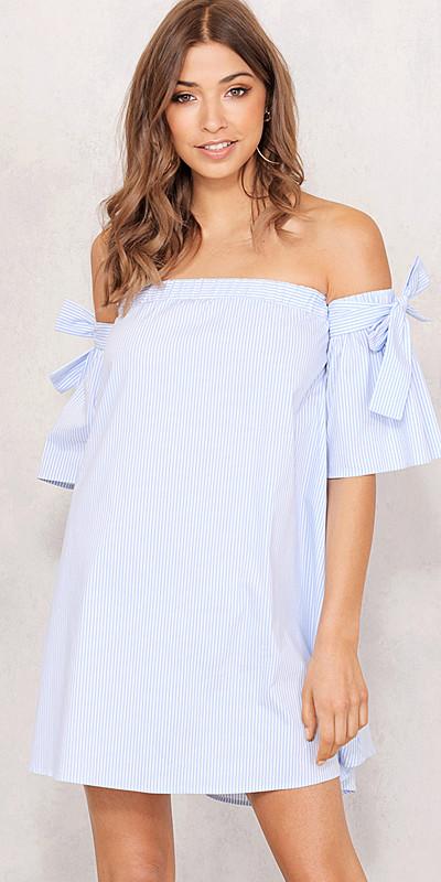 Chiquelle randig klänning