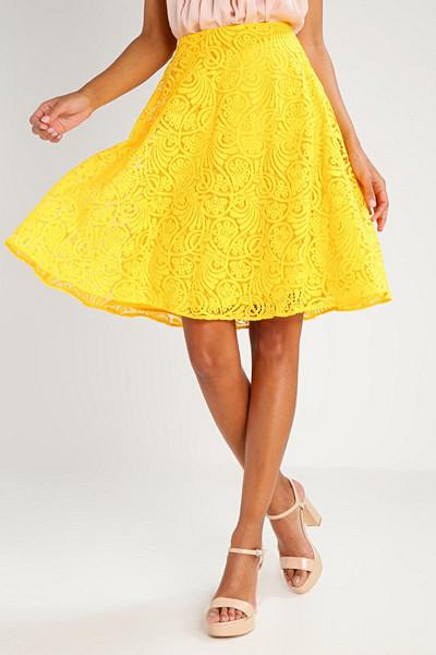 Anna Field gul kjol