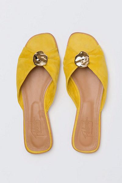 Flattered  x Michaela gula sandaler