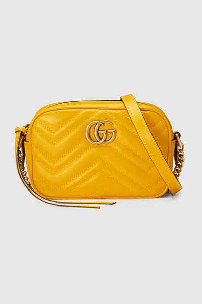 Gucci gul väska Marmont
