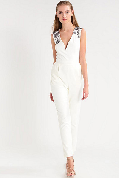 Little Mistress vit jumpsuit