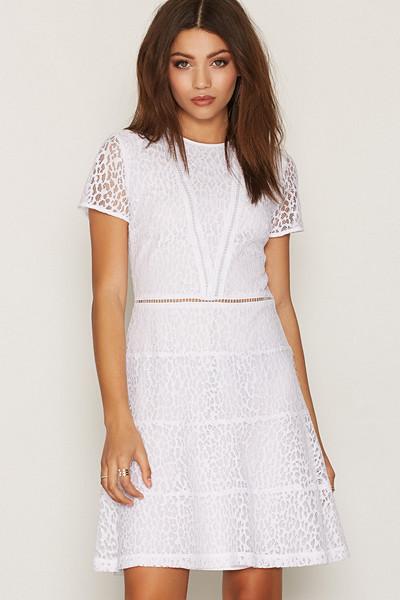 Michael Kors A-linjeformad klänning