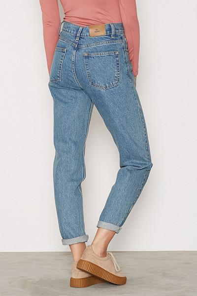 NLY Trend jeans med stora fickor baktill
