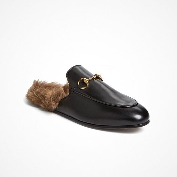 Gucci loafer mule sandaler