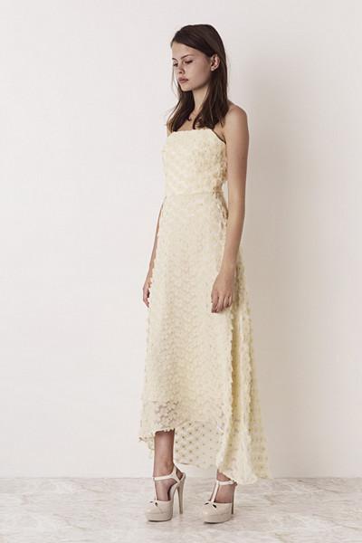 Ida Sjöstedt ljusgul klänning Angel Dress Pale Yellow