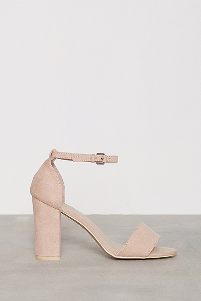 NLY Shoes sandal med blockklack