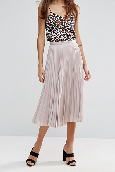 Warehouse plisserad kjol