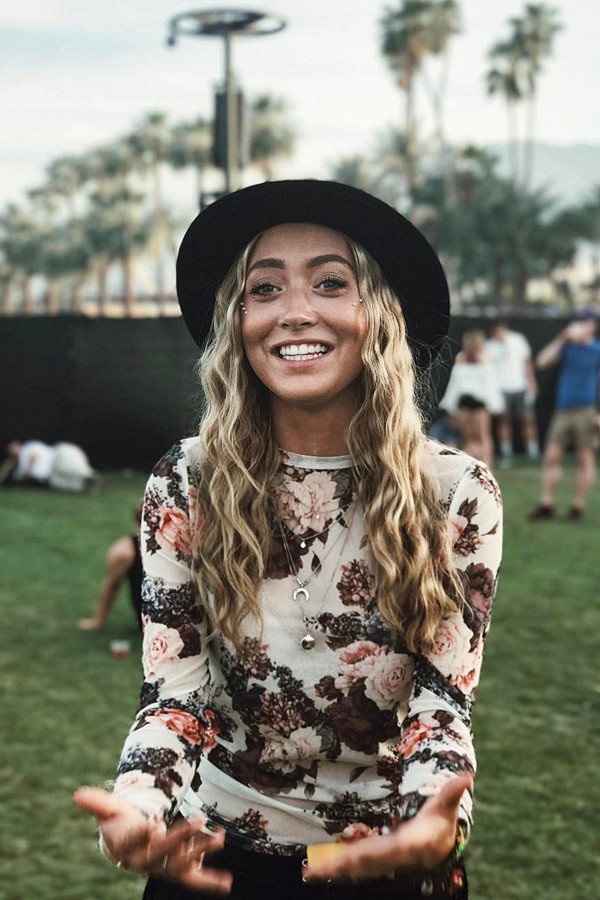 Stina Qvarforth Coachella 2017