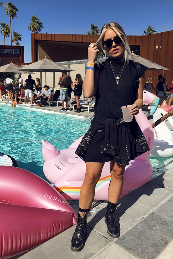 Angelica Blick Coachella 2017