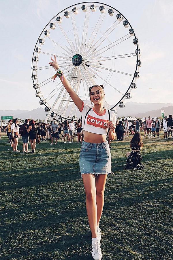 Kenza Zouiten Coachella 2017